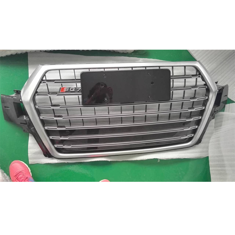For Audi Q7 SQ7 RSQ7 Front Hood Center Grille Grill Car Styling 2016UP mayitr new red front hood grill grille