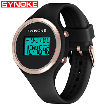 SYNOKE Women Smart Watch Sport LED Digital Fashion Waterproof Lady Fitness Smartwatch Swimming Diving Hand Clock Montre Femme