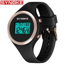 SYNOKE Women Smart Watch Sport LED Digital Fashion Waterproof Lady Fitness Smartwatch Swimming Diving Hand Clock Montre Femme