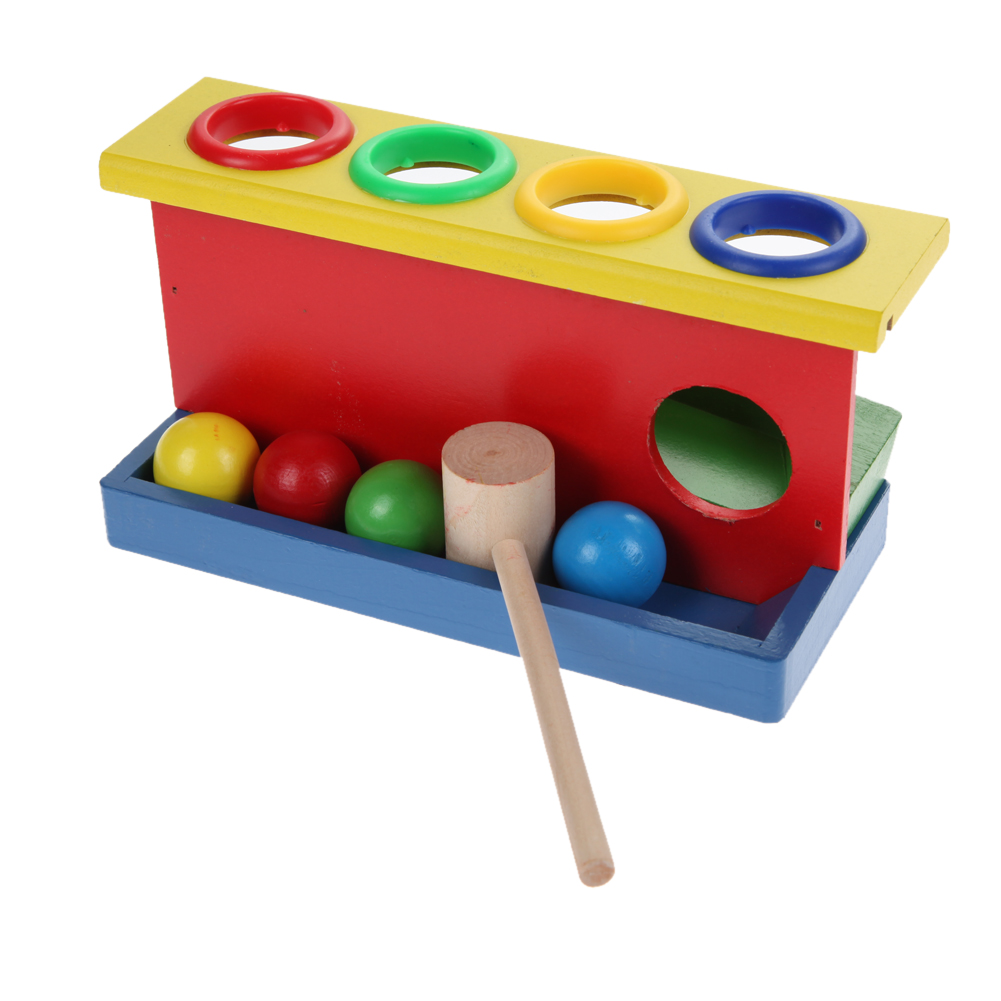 Baby Kids Hammering Wooden Ball Hammer Box Toy Children Early Learning Educational Blocks Toys nour mohammed chowdhury determining the profit maximization level