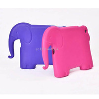 2017 New For IPad 4 2 3 Cover Kids Cartoon Elephant Safe Armor Shockproof EVA Silicone