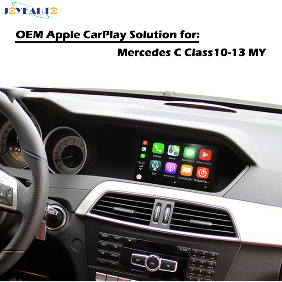 Aftermarket Smartauto Apple Carplay box Mercedes C coupe