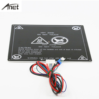 Anet UpgradedAluminum Heatbed 12V Big Size 220mm 220mm 3mm MK2A Hotbed With Cable For Mendel RepRap