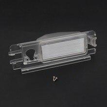 Автомобильный кронштейн для камеры заднего вида, подсветка номерного знака, крепление для корпуса, сделай сам, для Nissan Micra March, для Renault Pulse Logan Sandero
