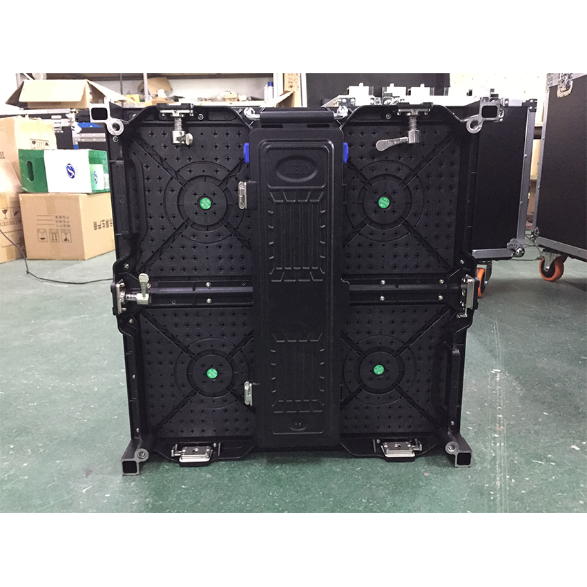 500x500mm indoor rgb led display screen p3 91 indoor die cast aluminum cabinet for rental advertising