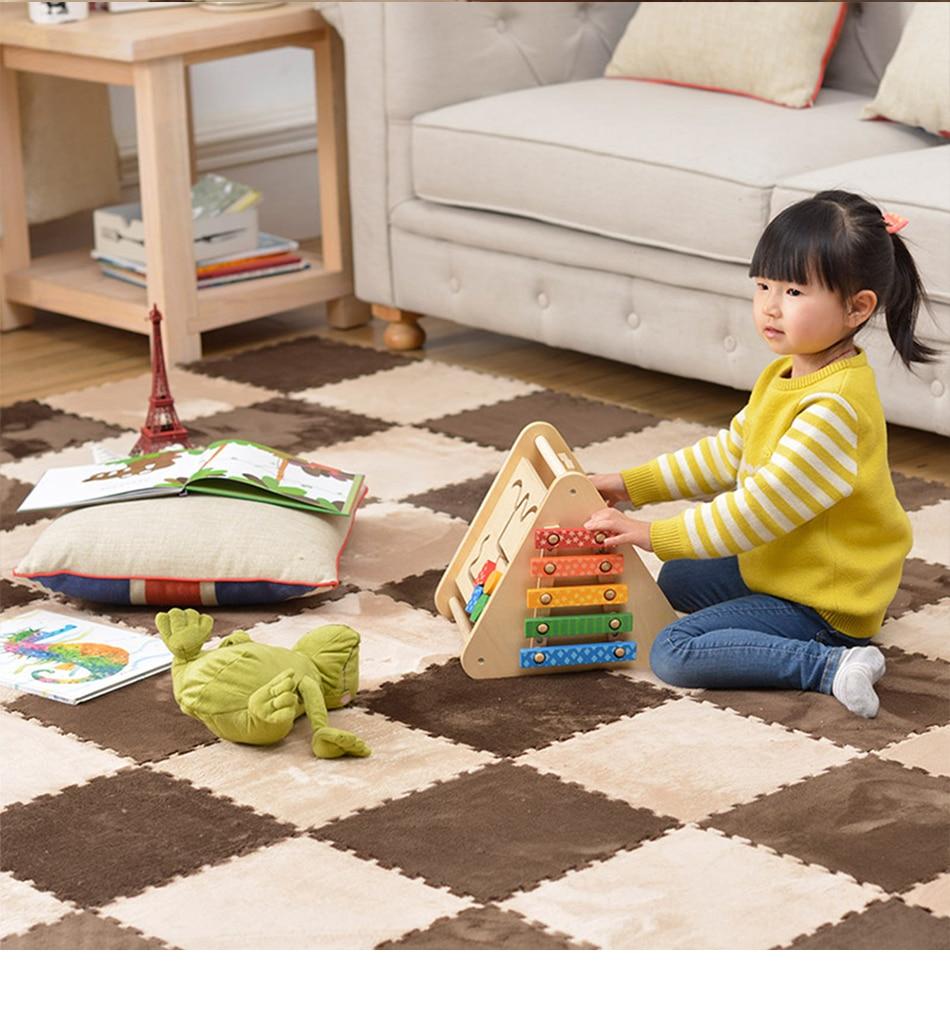HTB1iIfCBTlYBeNjSszcq6zwhFXaj 10 Pcs/lot Plush Puzzles Baby Playmats Puzzle Mat Infant Carpet Eva Foam Kids Rug Baby Playing Mat Rug Puzzle Children's Mat