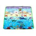 Atividade da criança tapetes de Jogo Do Bebê jogo cobertor game pad rastejando dois lados Do Oceano