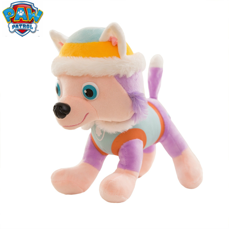New Paw Patrol Dog Puppy Toy Stuffed Plush Doll Everest 7 /set Patrulla Canina Action Anime figure Toys For Children Best GiftNew Paw Patrol Dog Puppy Toy Stuffed Plush Doll Everest 7 /set Patrulla Canina Action Anime figure Toys For Children Best Gift