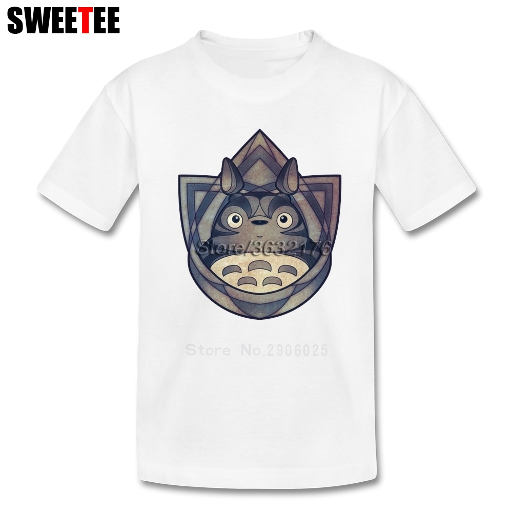 The Forest Spirit Of Stone children's T Shirt My Neighbor totoro Tshirt Teeshirt Boys Girls 2018 Normal T-shirt For Baby