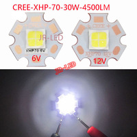 1PCS Original Authentic 30W 6V 12V Cree XHP70 Led Emitter Lamp Light White 5000K Cool White
