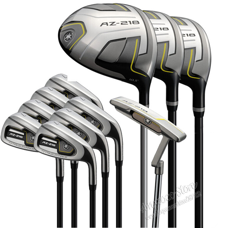 New Golf clubs AZ-218 complete clubs set Driver+3/5 fairway wood+irons+putter Graphite Golf shaft headcove Free shipping vogue japan misaki kurehito native creator s collection cat lap milk sexy pvc figure toys new in box