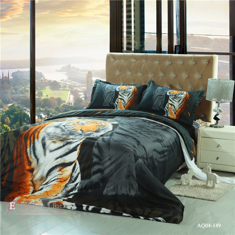 3d Tiger Bedding Sets Animals Twin Full Queen King Size