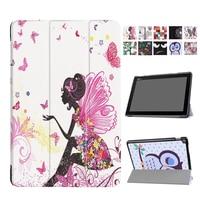 For Asus Zenpad 10 Z301MFL Z301ML Tablet Cover Case PU Leather Print Fundas 10 1 Zenpad