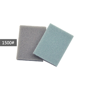 Image 5 - POLIWELL 12Pcs Rectangular Sanding Sponge Block Pad Sandpaper 400 1000 1500 3000 Grit Abrasive Tools Sandpaper Sanding Discs