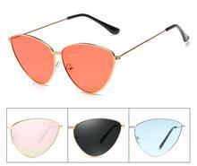 Fashion Ladies Sunglasses Women Brand Designer Sun Glasses For Triangles Cat Eye Female Gift