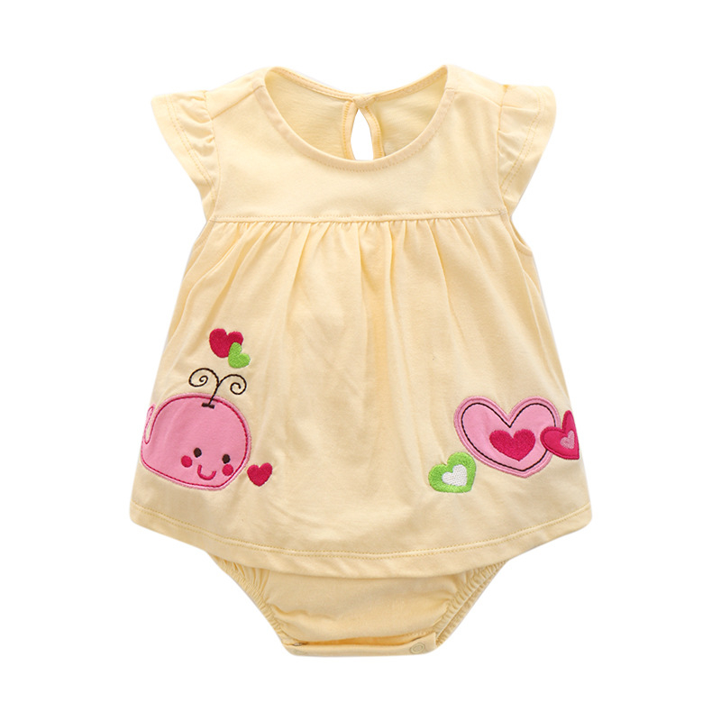 7b3c2f9ae Buy Baby Rompers Summer Baby Girl Clothes Cartoon Baby Girl Clothing ...