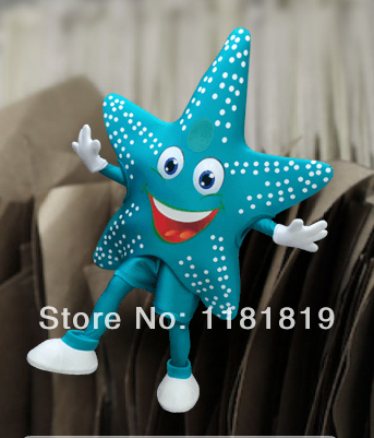 MASCOT ستاره ماهی MASCOT COSTUME کت و شلوار - ماسک و تن پوش کارتونی