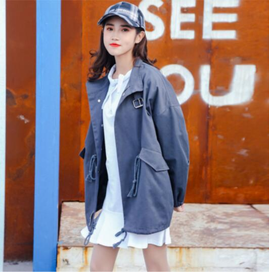 5dde2a42589 Fdfklak Loose Large size maternity jacket pregnancy clothes for pregnant  women autumn winter female trench coat casaco feminino-in Coats from Mother    Kids ...