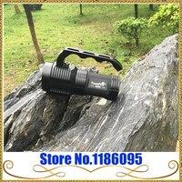 TrustFire S400 3000 люмен 4 х Cree xm-l L2 3 Режим светодиодный фонарик Warerproof Torch Light 4x18650 батарея (без батареи)