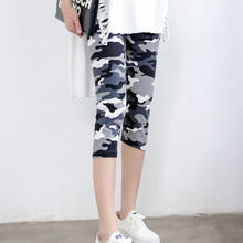INITIALDREAM Marke Leggings Sommer Frauen Hohe Taille Elastische Hose Frauen Hosen Gedruckt Stretch Leggings Calzas Mujer Leggins
