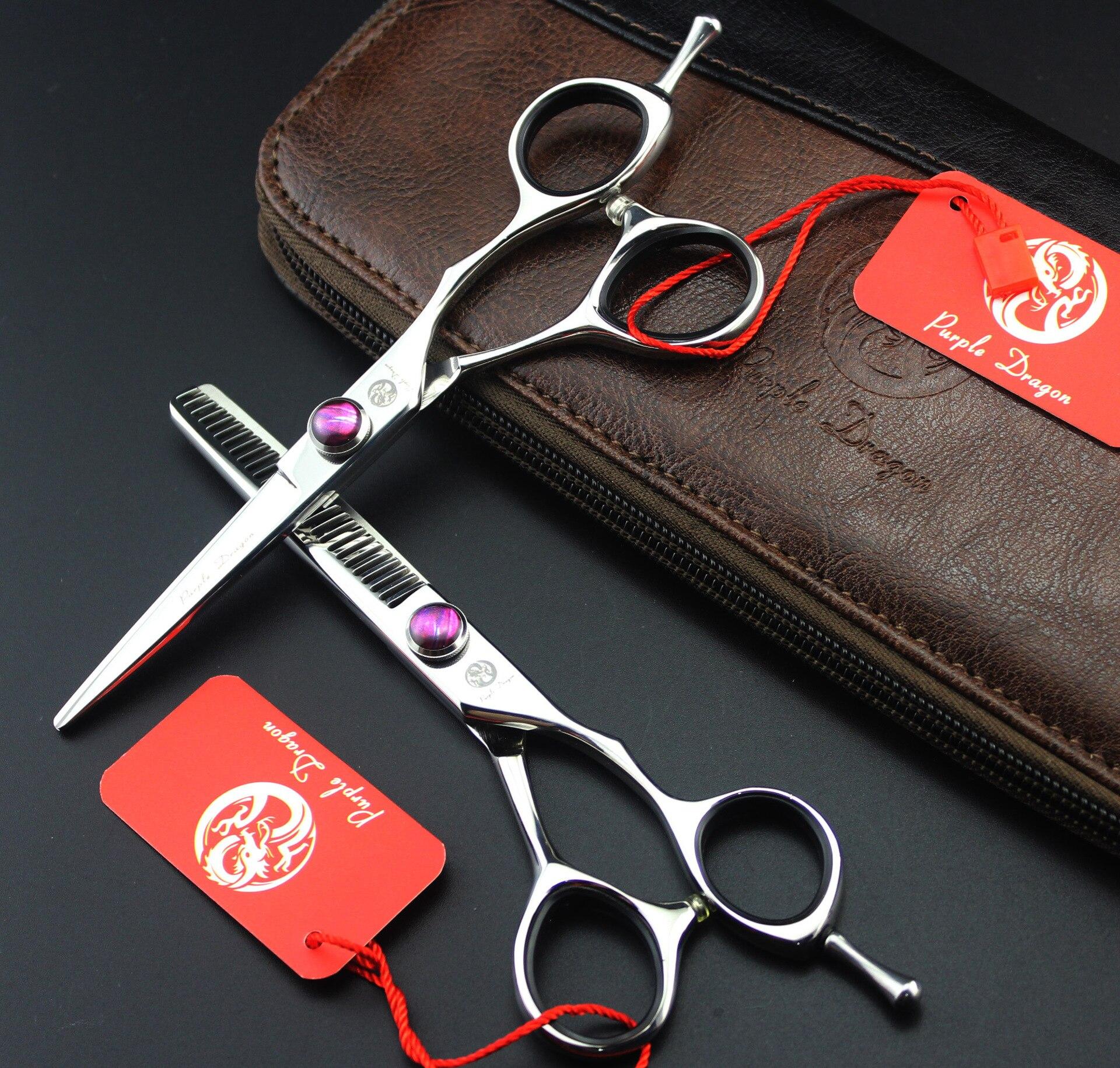 Hair scissors Barber Lyrebird hairdressing scissors 5.5INCH 1set/lot ahern c lyrebird