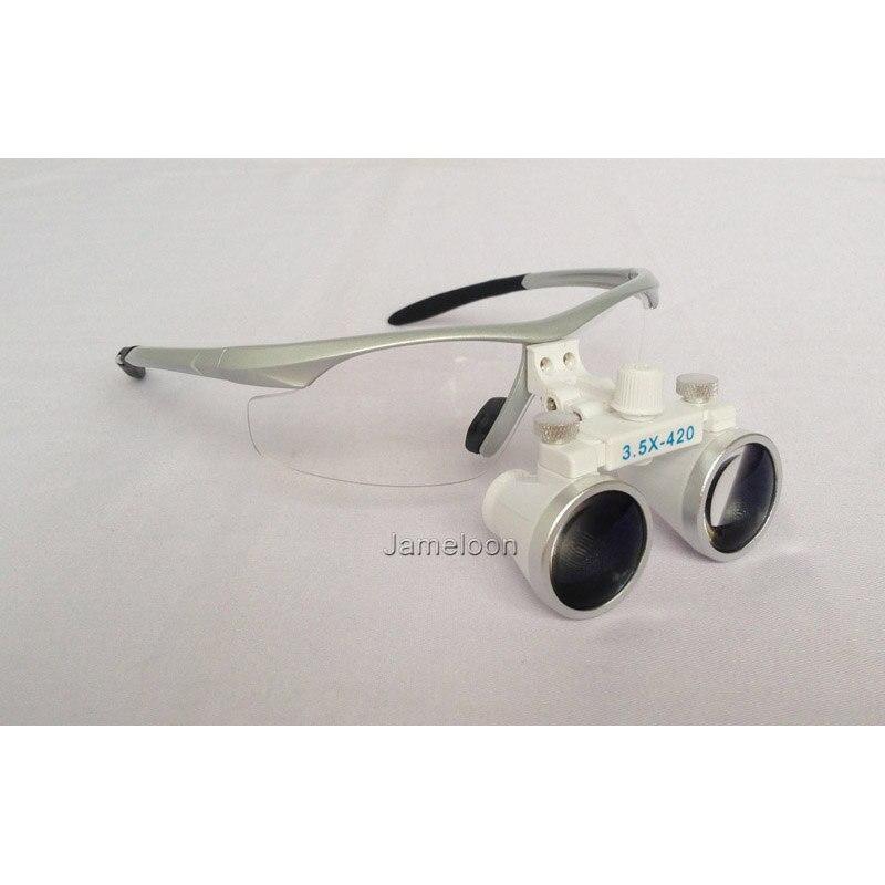 dca13e24c4 3.5X più chirurgico lente di ingrandimento regolabile distanza degli occhi  prezzo promozionale ottico Galileo occhiali dental lente di ingrandimento  in 3.5X ...