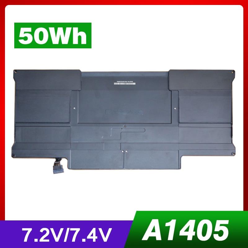7.3 v 50WH A1466 batterie pour Apple Macbook Air A1369 2011,13
