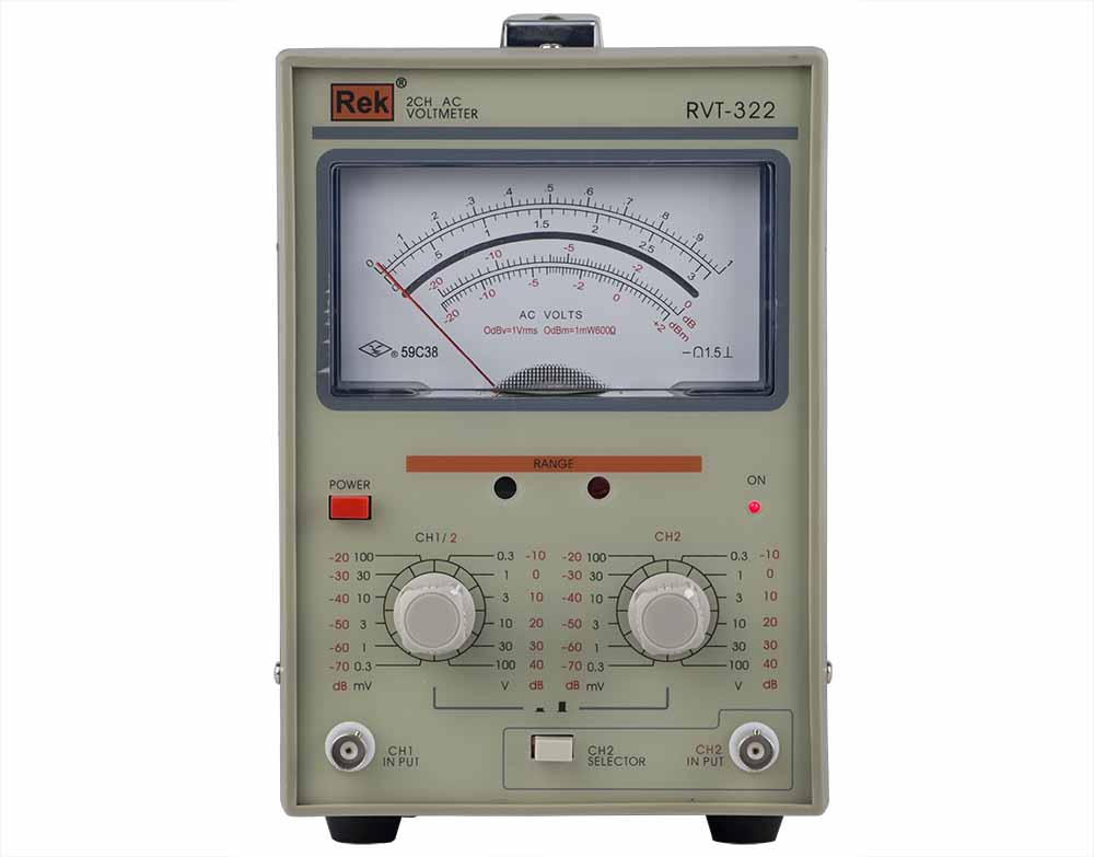 REK RVT-322 Measuring Instrument Withstand Voltage Tester Pressure Hipot Tester Resistance Electronics Parameter  ac millivoltmeter rvt 322 measuring instrument withstand voltage tester pressure hipot tester resistance electronics parameter