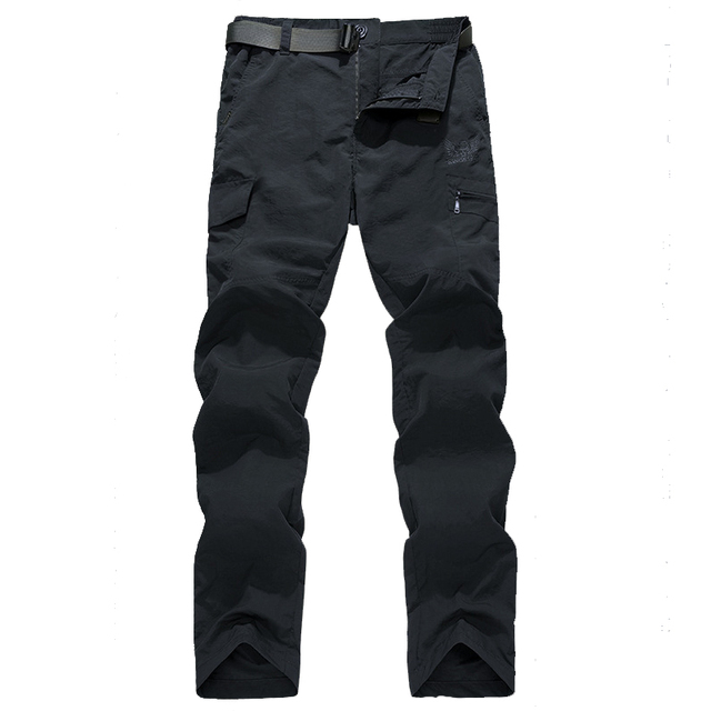 Men's Military Style Cargo Pants Men Summer Waterproof Breathable Male Trousers 5