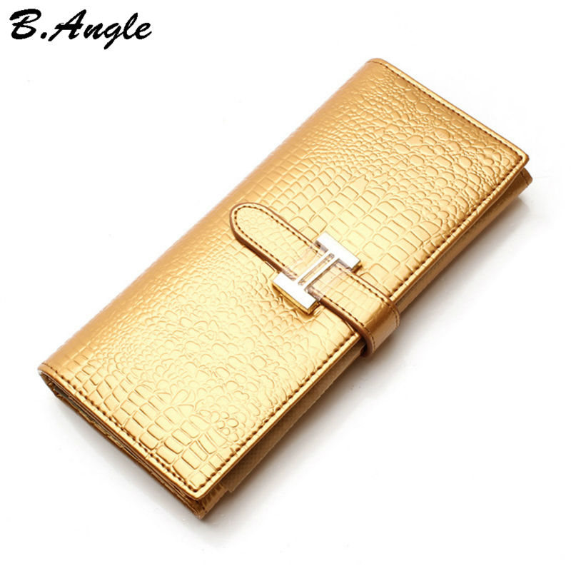 High-quality-H-Genuine-leather-candy-color-wallet-long-Design-Wallet-Zipper-Coin-Purse-Card-Holder