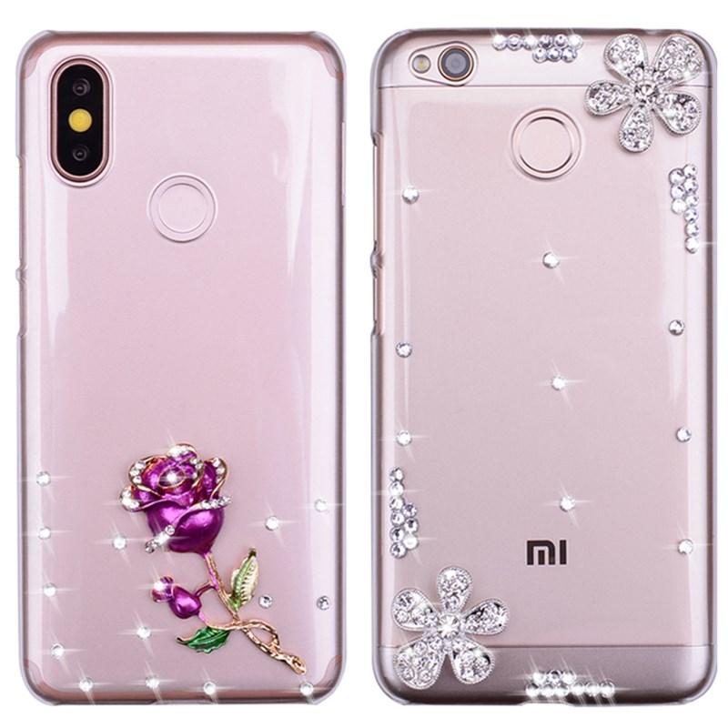 Case For LG G8 G7 G6 V50 V40 V30 V20 Bling Bling Case For LG K8 K4 K7 K10 2016 2017 2018 Q6 Q7 Luxxur DIY Diamond Phone Cover
