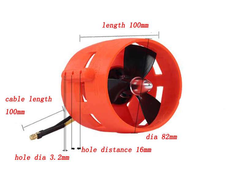 1 pièces 3 phases moteur Brushless sous-marin propulseur DC 24V 600W 900KV hélice pour RC bateaux modèle sous-marin robot à monter soi-même