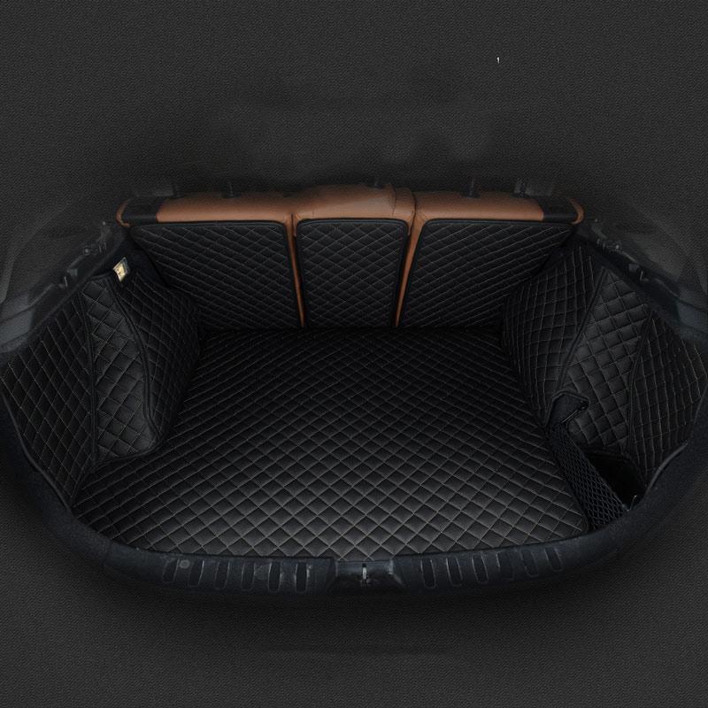 car rear trunk mat car boot mat cargo liner for chevrolet cruze malibu trax captiva sail sonic cavalier equinox 2018 2017 2016 high quality car central station mat sticker for chevrolet cruze black 1pcs free shipping kl12329