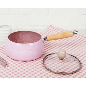 Image 4 - Justcook 16 CM Mini patelnie na mleko świąteczny prezent czekoladowa zupa mleczna bez sztyftu garnek do gotowania ogólne zastosowanie do gazu i kuchenka indukcyjna