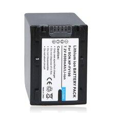 Hot 1pc Battery NP-FV100 NP FV100 NPFV100 Rechargeable Camera Battery For SONY FDR-AX100E AX100E HDR XR550E XR350E CX550E CX350E