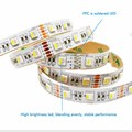 5m 5050 Led Strip Light DC 12V RGBW RGBWW CCT  4 in 1 Led Chip Non Waterproof 60led/m indoor outdoor home decoration