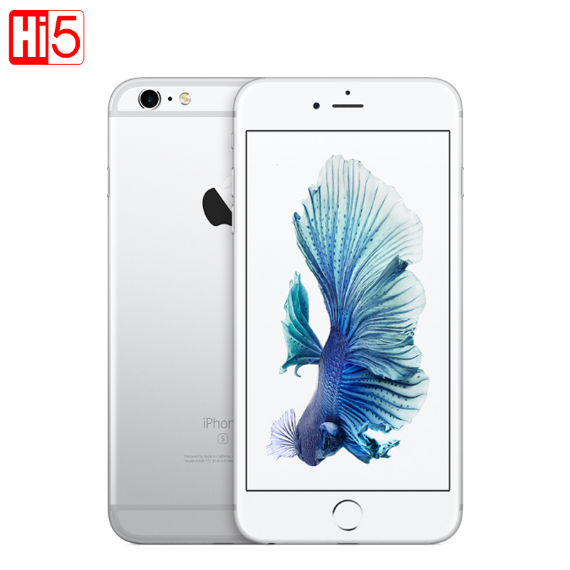 Открыл Apple iPhone 6 S Plus 16 г/64 г/128 г Встроенная память 5.5 12.0mp Камера 4 К видео IOS LTE мобильный телефон Dual Core gprs отпечатков пальцев