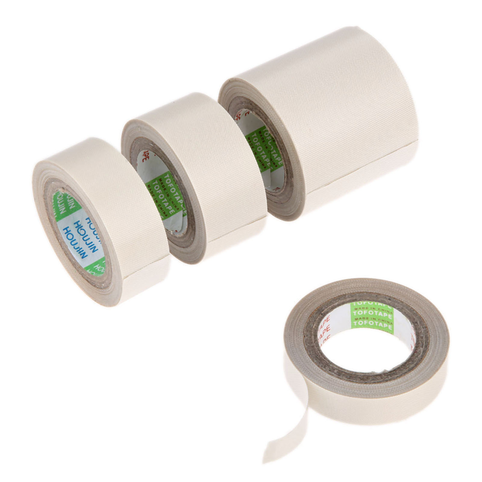 10m Long 0.13mm Thick PTFE High Temperature Heat-Resistant Adhesive Tape 13/19/25/50mm Wide Fiberglass Vacuum Sealing Tape