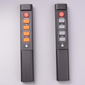 Image 5 - 6 개의 열쇠는 텔레비젼 STB DVD 상자 DVB hifi를위한 원격 제어 일을 배우십시오, 사용하기 편한 텔레비젼 상자를위한 보편적 인 똑똑한 관제사