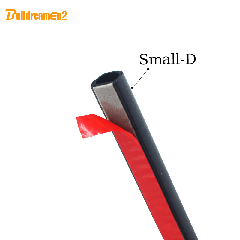 Buildreamen2 1000CM 400 D Shape Seal Strip Weatherstrip Noise Control Trim Replacement For Truck SUV Car