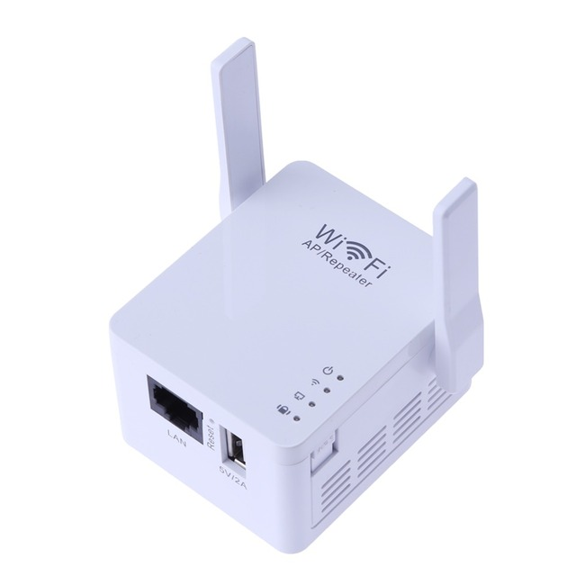 300mbps wifi ap repeater router wi fi signal amplifier usb - Wireless extender with ethernet ports ...