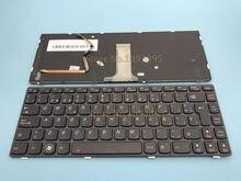 Оригинальная новая клавиатура с испанской раскладкой для ноутбука LENOVO IBM Y480, Y485, Y480A, Y480N, клавиатура с испанской раскладкой и подсветкой