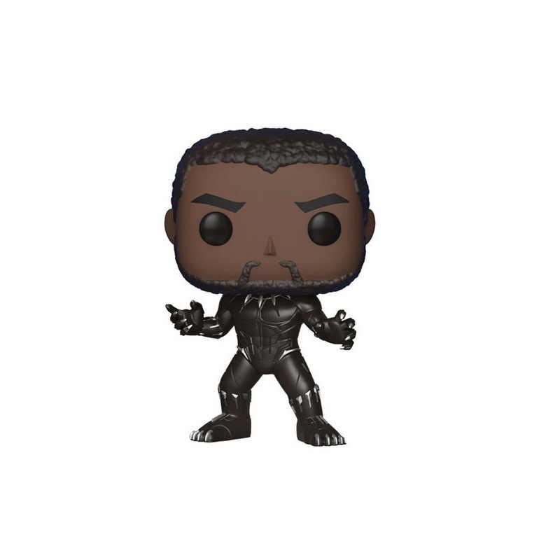 FUNFUNKO 3 POP Vingadores Homem De Ferro Pantera Negra Gigante Verde Raytheon Mão Escritório/Decoração balançando a cabeça Brinquedo Modelo de Carro para Presentes