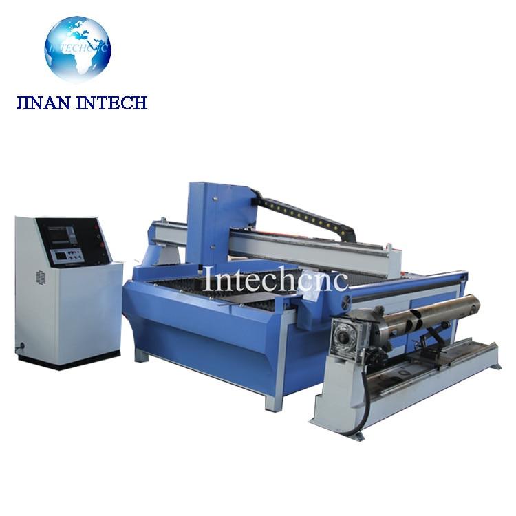 האופנה האופנתית למכירה עם סיבובי מכונת חיתוך gantry cnc פלזמה THC 1325 1530 ב DA-46