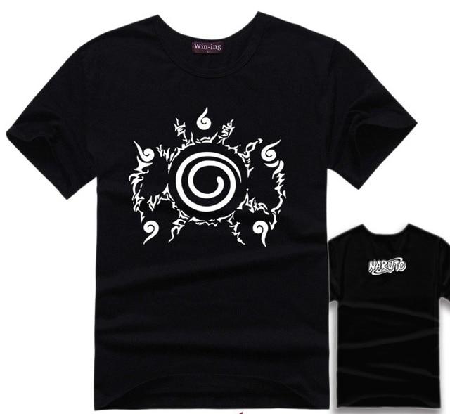 Classic Naruto's Four Symbols Seal Women T-shirt / 4 Colors