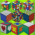 Juego profesional 2 3 4 5 6 7 8 9 10 Capa Cubos Cubo mágico Puzzle Velocidad Primavera Cubo Mágico Juguetes Educativos Regalos Torcedura