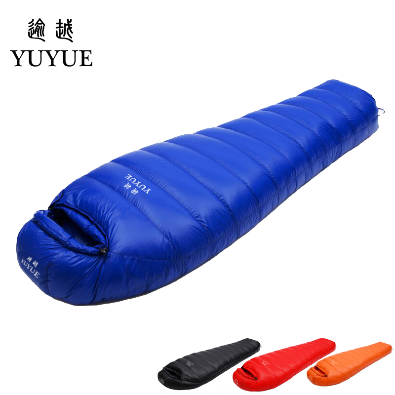 Adult waterproof Lengthened Sleeping Bag Ultralight Tearproof Mummy Camping Sleeping Bag Down For Hiking Equipment Sleep Bags down sleeping bag for winter camping liner tent waterproof mummy sleeping bag camping equipment camping bags sleep for outdoor