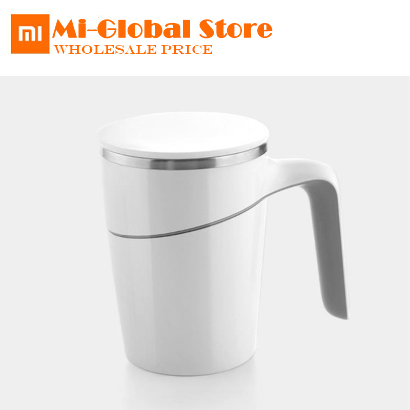 new original xiaomi Fiu Elegant Cup Innovation Magic Sucker Splash Proof Non-slip Double Insulation 304 Stainless Cup