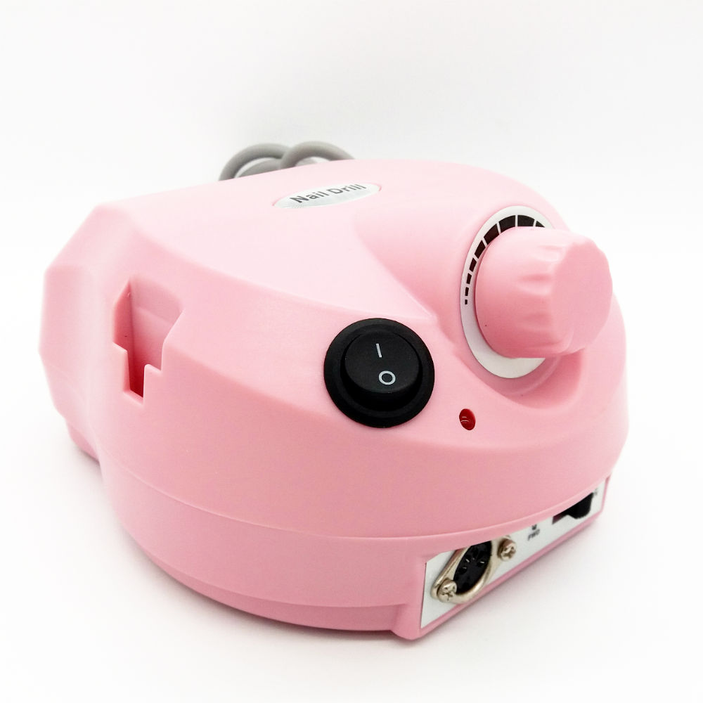 15W Electric nail drill & nail manicure machine with 6 drill bits ...