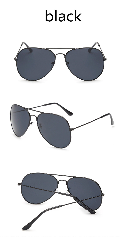 ASUOP2018 new ladies retro cat eye sunglasses luxury brand fashion men's pilot glasses UV400 night vision goggles night vision goggles (5)